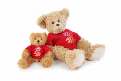 Bear Edward 20 inch with red sweater included