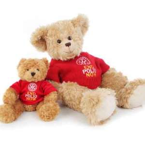 Bear - Toffee 8-10 inch with red sweater