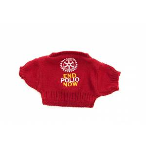 Bear - Red Sweater ONLY for 8-10inch bear