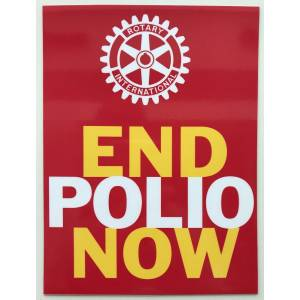 Magnet - End Polio Now